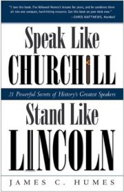 Speak Like Churchill, Stand Like Lincoln - Sidebar