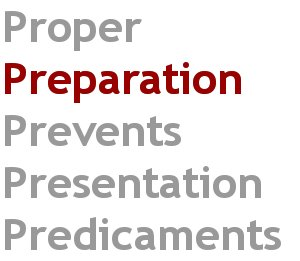 speech preparation how to prepare a presentation