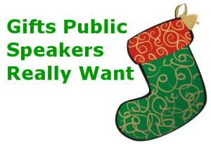 Gifts Public Speakers Really Want