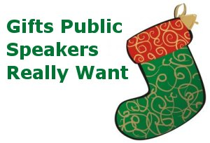 gifts public speakers really want dozens of christmas ideas