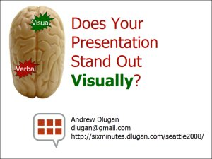 Does your presentation stand out visually?