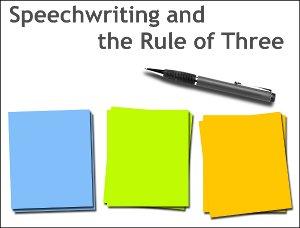 Rule of Three Speech Writing