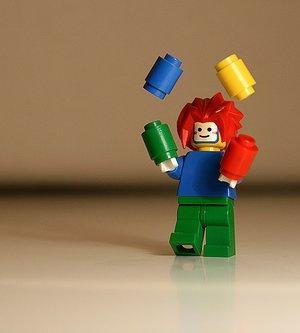 Juggling is a common metaphor