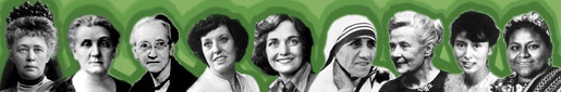 Nine women have won the Nobel Peace Prize
