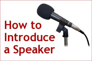Introducing a guest speaker sample on elementary for Template for introducing a speaker