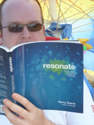 Resonate made for great summer reading on the beach.