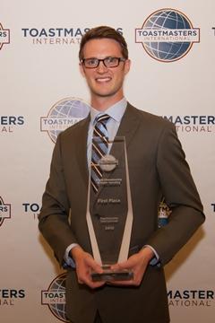Ryan Avery - 2012 Toastmasters World Champion of Public Speaking