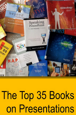 Top 35 Presentation Books: Expert Ratings