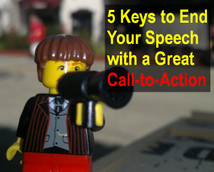 Keys to End Your Speech with a Great Call-to-Action