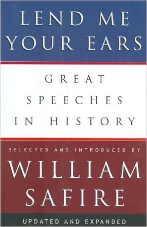 Book Review – Lend Me Your Ears: Great Speeches in History